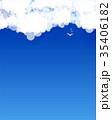 Cloud theme vector background. 35406182