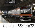 乗り物 列車 電車の写真 35414072