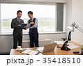 ビジネスマン 空港 オフィス ビジネス イメージ 35418510