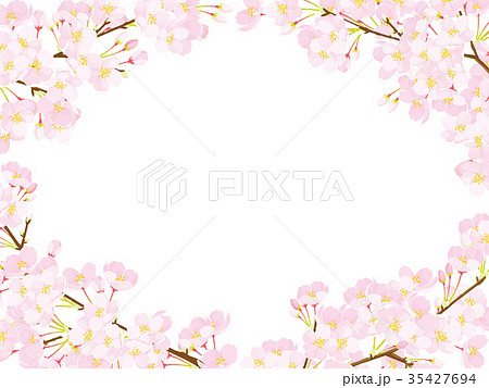 桜 フレーム 35427694
