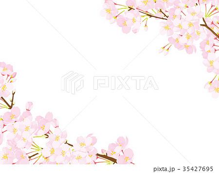 桜 フレーム 35427695