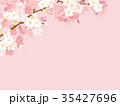 桜 春 春イメージのイラスト 35427696