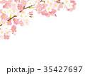桜 春 春イメージのイラスト 35427697