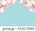 春 桜 花のイラスト 35427699