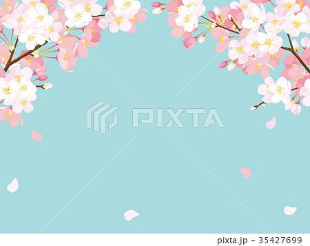 桜 背景イラスト 35427699