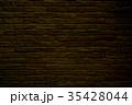 背景素材 レンガ 壁の写真 35428044