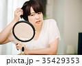女性 ミドル 髪の写真 35429353