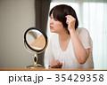 女性 ミドル 髪の写真 35429358