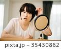 女性 ミドル 髪の写真 35430862