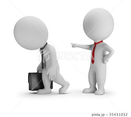 3d small people - dismissal 35431032