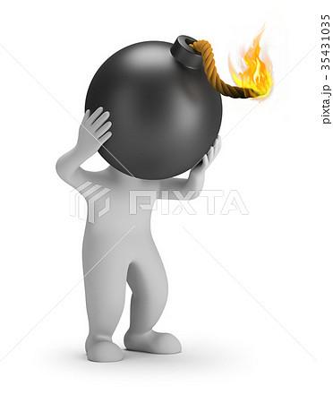 3d small people - head bomb 35431035
