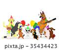 犬のパーティー グループ 35434423