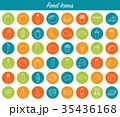 食 料理 食べ物のイラスト 35436168