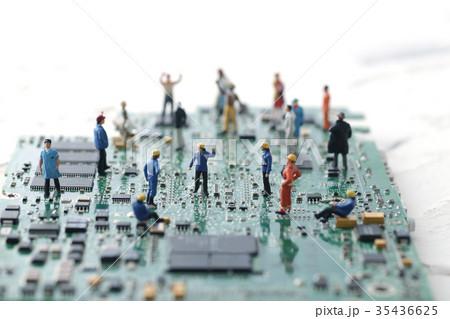 コンピューターと人間 35436625