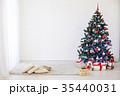 クリスマス 樹木 樹の写真 35440031