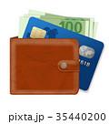 お財布 サイフ 財布のイラスト 35440200