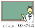 医師 黒板 35447413