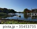 石神井公園ボート池の休日 35453735