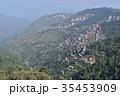 インドの絶景 シムラーの美しい街並みとヒマラヤの山々 35453909