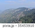 インドの絶景 シムラーの美しい街並みとヒマラヤの山々 35453910