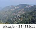 インドの絶景 シムラーの美しい街並みとヒマラヤの山々 35453911