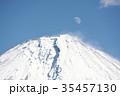 富士山 冬 風景の写真 35457130
