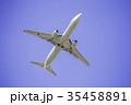 離陸した飛行機  ボーイング737-800 35458891
