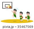 バスケットボール レイアップシュート 失敗 35467569