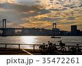 レインボーブリッジ ぐるり公園 東京湾の写真 35472261
