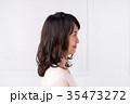 ヘアスタイル 女性 若いの写真 35473272