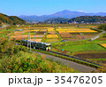 釜石線と遠野田園風景 35476205