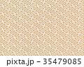 小紋柄の和紙(紗綾型) 35479085