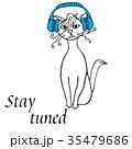 ねこ ネコ 猫のイラスト 35479686