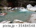 中津渓谷 清流 川の写真 35484548