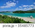 石垣島 川平湾 海の写真 35485773