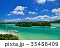 石垣島 川平湾 海の写真 35486409