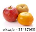 梨、柿、林檎(早生富有柿、南水梨、サンジョナゴールドリンゴ) 35487955