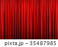 レッドカーテン06 , 3Dイラスト 35487985