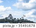唐津城 舞鶴城 城の写真 35491678
