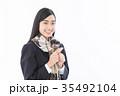女子高生 受験生  35492104