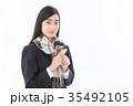 女子高生 受験生  35492105