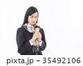 女子高生 受験生  35492106