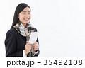 受験生 女子高生 高校生の写真 35492108