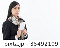 受験生 女子高生 高校生の写真 35492109