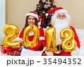 クリスマス さんた サンタの写真 35494352