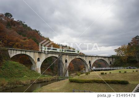 秋のメガネ橋 35495478