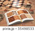 フロア 床 床材のイラスト 35498533