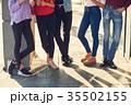 グループ 脚 若いの写真 35502155