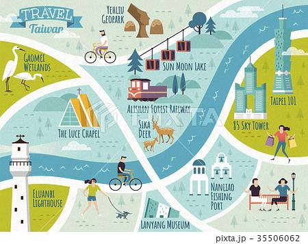 Taiwan travel map 35506062