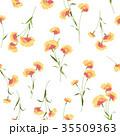 花 花柄 パターンのイラスト 35509363